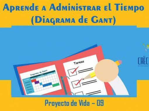Protegido: Pv09 Administrar el Tiempo 1 (Diagrama de Gant)